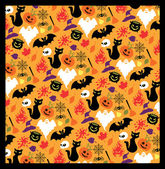 Seamless pattern for Halloween. — Stock Vector