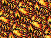 Fire background — Vettoriale Stock
