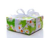 Gift Box isolated on white background. — Stock Photo