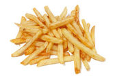 French fries isolated on white background. — Stock Photo