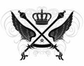 Crest Ornamentation — Stock Vector