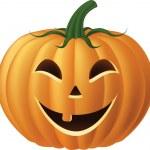 Happy Jack-o-Lantern Pumpkin — Stock Vector #18030369