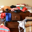 Stock Photo: Dresser with things