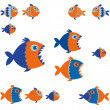 Fishes — Stock Vector #40845281