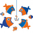 Fishes — Stock Vector #40891501