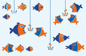 Fishes — Stock Vector