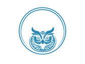 Owl logo — Stock vektor
