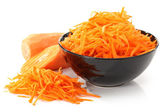 The polished carrots — Stock Photo