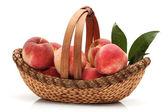Rijp perzik — Stockfoto