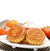 Mid-Autumn Festival moon cake — Stock Photo