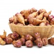 Stock Photo: Jerusalem artichoke