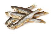 Torkade fiskar — Stockfoto