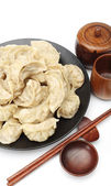 Chinese dumplings — Stockfoto