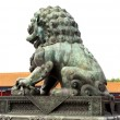 Chinese Imperial Lion Statue — Stock Photo #14426211