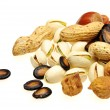 Various nuts — Stock Photo