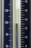 Vintage manometer - pressure gauge — Stock Photo