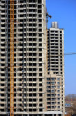An unfinished high-rise building — Stock Photo