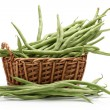Green kidney bean - Foto Stock
