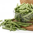 Green kidney bean — Stock Photo