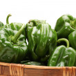 Green sweet pepper   — Stock Photo