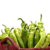 Green Hot Pepper — Stock Photo