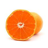 Orange mandarin or tangerine — Stock Photo