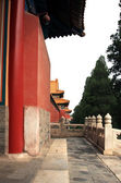 Ancient buildings in Forbidden City, Beijing of China — Stok fotoğraf
