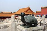 青铜龟 — 图库照片