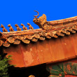 Roof at forbidden city — Stock Photo #17578341