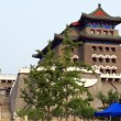 Royalty-Free Stock Photo: The Qianmen archery tower, formerly the front gate of the Imperial City, Beijing, China