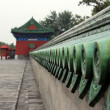 Roof at the forbidden city — Stock Photo