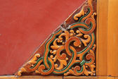 Traditional Chinese wall decorations — Stock Photo