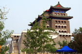 The Qianmen archery tower, formerly the front gate of the Imperial City, Beijing, China — Stock Photo