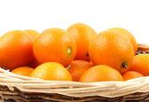 Kumquat close up isolated on white — Stock Photo