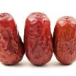 Red dates — Stock Photo