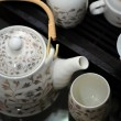 Tea set — Stock Photo