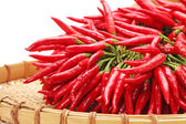 Red Hot Chili on white background — Stock Photo