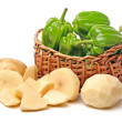 Potatoes and green sweet pepper — ストック写真