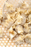 Ravioli Siu Mai on white background — Stock Photo