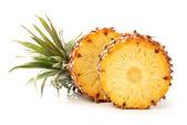 Pineapple on white background — Stock Photo