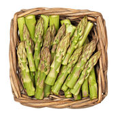 Asparagus on white background — Stock Photo