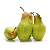 Pear on white background — Stockfoto
