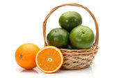 Asien orange — Stockfoto