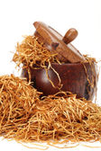 Loose shredded tobacco — Stock Photo