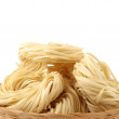 Italipasttagliatelle nest — Stock Photo #28729879
