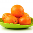 Orange on the white background — Stock Photo #28732193