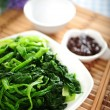 Foto Stock: Boiled spinach