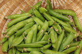 Ripe pea vegetable — Stock Photo