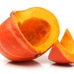 Orange pumpkin on white background — Stock Photo #29229083