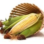 Fresh corn on the cob — Stock Photo #29482229